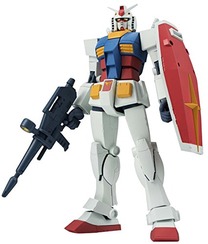 Bandai BAN02277 RX-78-2 Ver. A.N.I.M.E. Mobile Suit Gundam Robot Spirits Action Toy Figure, Multi-Colored, 8 Inches