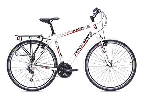 SPORTAGE TORPADO BICICLETA 28 3 X 7 V ALU BLANCO TALLA 52 (TREKKING)/BICYCLE SPORTAGE 28 3 X 7 S ALU SIZE 52 WHITE (TREKKING)