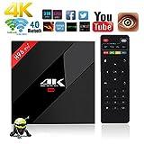 Aoxun 4K TV Box Android 7.1 3G+32G Scatola intelligente H96 Pro+ Plus CPU Amlogic S912 Octa-core 64 bit con wifi smart set-top Scatola box Bluetooth 4.1 e True 4K Playing immagine
