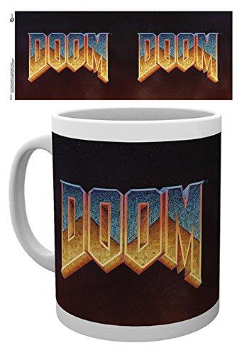 Doom-Classic Logo della Tazza in ceramica-Misura Altezza