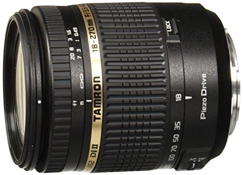 Tamron 18-270 mm/F 3,5-6,3 DI II PZD 18 mm Objektiv (Sony alpha/Konica-Minolta-Anschluss,true)