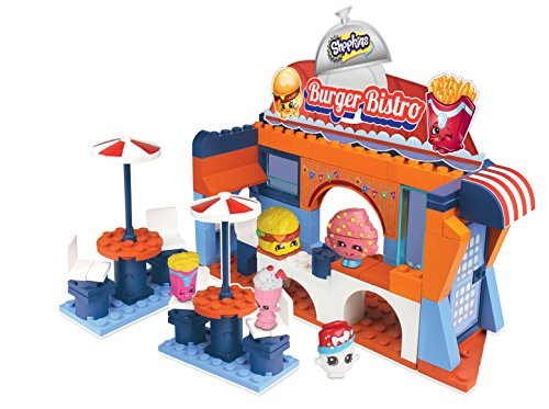 Shopkins 94.907,1 cm Wave 2 kinstructions Szene Burger Bistro Building ()