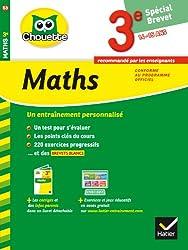 Maths 3e Spécial brevet: cahier de révision et d'entraînement