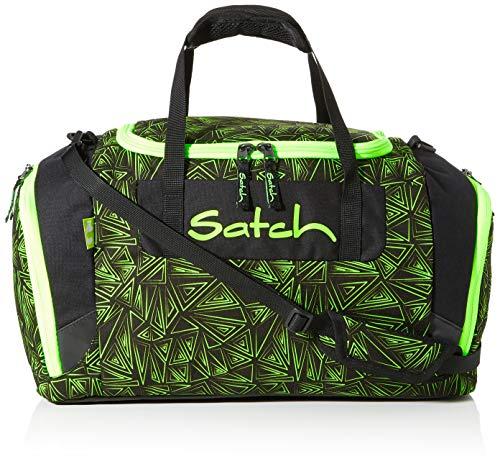 Satch Sporttasche Green Bermuda 9K9, 25 Liter, Schwarz Grün
