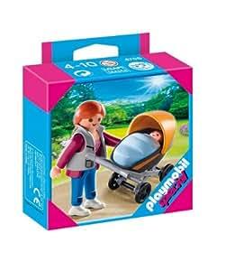 playmobil 4756 jeu de construction maman et poussette jeux et jouets. Black Bedroom Furniture Sets. Home Design Ideas