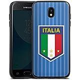 Samsung Galaxy J3 2017 Silikon Hülle Case Schutzhülle Italien EM Trikot Fußball Europameisterschaft