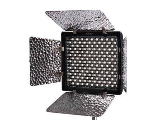 Yongnuo OS03221 YN-300 II Profi Videolicht/Kameralicht mit 300-LED (2280 Lumen) für Videokamera/Camcorder Test