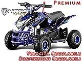 "Motorbimbo Nitro Motors MIni Quad 50 Jumpy 4"" Premium Blu"