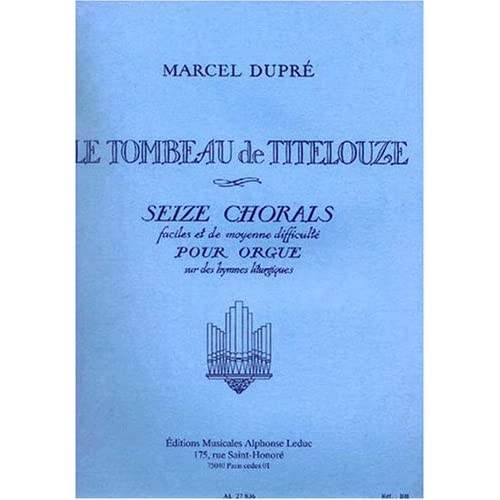 TOMBEAU DE TITELOUZE/OP38ORGUE