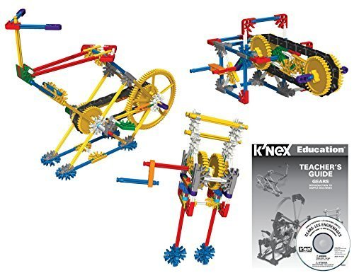 K'NEX Education - Intro to Simple Machines: Gears Set ??198 Pieces ??Grades 3-5 ??Engineering Education Toy by (Intro Engineering)
