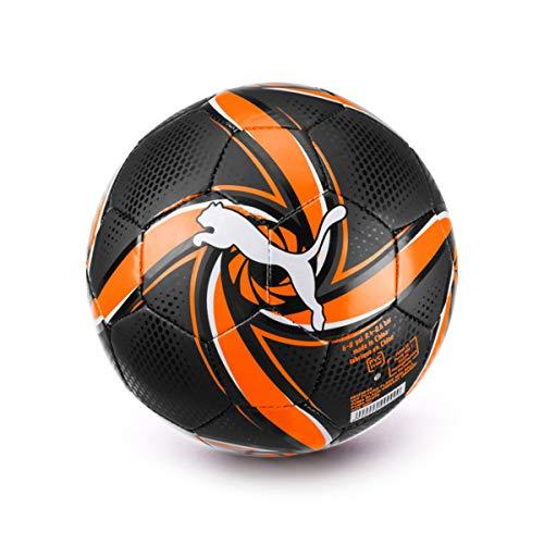 PUMA Mini Valencia CF Future 2019-2020, Balón, Black-Vibrant Orange