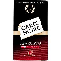 Carte Noire - Café Torréfié Moulu Intense N°9 - Lot de 6 de 250 gr [1.5 Kg]