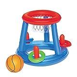 Aufblasbares Basketballspiel Set / Wurfspiel / schwimmendes Poolspiel / Spielzeug ca. 61 cm