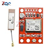 GY-NEO6MV2 NEO-6M módulo GPS con control de vuelo EEPROM RS232 TTL antena grande para Arduino GPS APM2 APM 2.5 NEO6MV2 3-5V