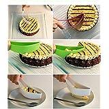 Jeejex Plastic Kitchen Ergonomic Design Cake Pastry Server Cutter And Slicer