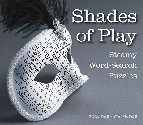Shades Of Play 2016 Boxed Daily Calendar