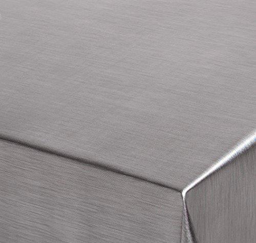 , Meterware Abwischbar, Metall Optik, TITAN, 200x137 cm, Länge wählbar, Beautex ()