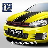 JOM Car Parts & Car Hifi GmbH JOM 1L0807103JTI Frontstoßstange im Sport-Design mit Nebelscheinwerfern und Kühlergrill