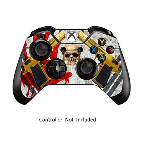 Xbox One Controller Designfolie Sticker - Vinyl Aufkleber Schutzfolie Skin für Xbox One Controller Ghost Ops