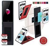 reboon Hülle für Maze Blade Tasche Cover Case Bumper | Rot Leder | Testsieger