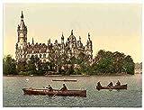 Photo The ducal castle II Schwerin Mecklenburg Schwerin A4