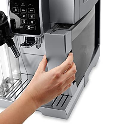 DeLonghi-Dinamica-ECAM-35075S-Kaffeevollautomaten-1450-Watt-silber-schwarz