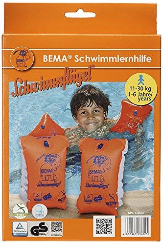 bemar-original-schwimmflugel-orange-grosse-0-11-30-kg-1-6-jahre-2-paar