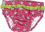 Playshoes Baby - Mädchen Schwimmwindel Badewindel, Badehose Blumen, UV-Schutz nach Standard 801 und Oeko-Tex Standard 100, Gr. 62 (Herstellergröße: 62/68), Mehrfarbig (original 900)