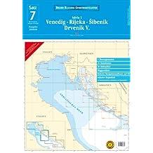 Delius Klasing Sportbootkarten / Venedig - Rijeka - Šibenik - Drvenik V.: Adria 1. Ausgabe 2008/2009