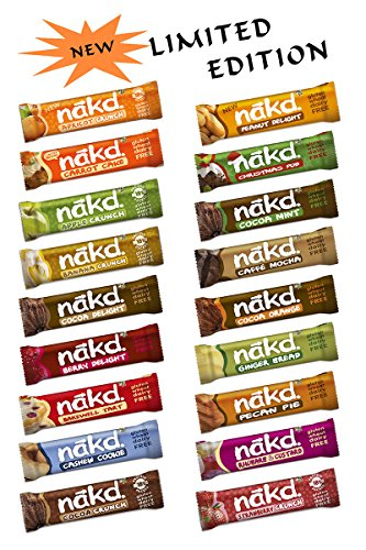 Nakd Gluten Free Choose Your Favorite Selection (18 bars) - Limited Edition Test