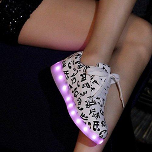 [Present:kleines Handtuch]JUNGLEST® 7 Farben LED Kinder, Jungen, Mädchen führte leuchten Trainer Sneakers Turnschuhe Sportschuh c44