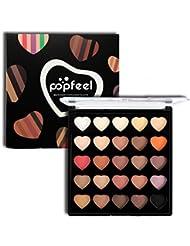 Palette Fards a Paupiere, ROPALIA 25 Couleurs Palette Ombre a Paupieres Matte Shimmer Ombre Palette Yeux (A01)