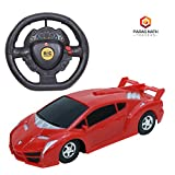 Paras Nath Traders 1:22 Scale Forward and Backward Function Remote Control Car (Red)