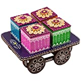 #5: Dry Fruit Trolly Box Multipurpose Box Trolly Style Box by Ansh Artism