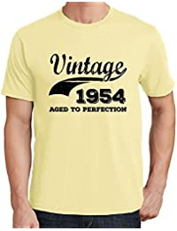 Vintage Year Aged to perfection 1954, regalo cumpleaños hombre, camisetas hombre cumpleaños, vendimia añejado a la perfección camiseta hombre, camiseta regalo, regalo hombre
