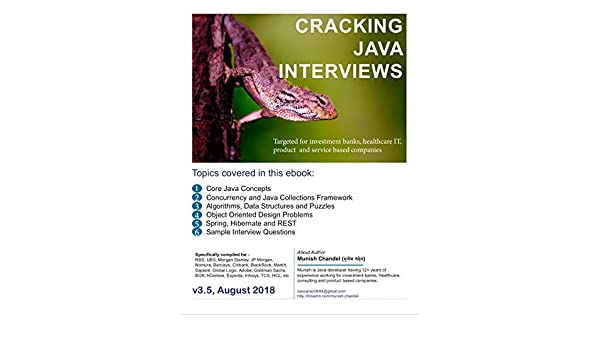 Cracking Core Java Interviews 3rd Edition: Java Question