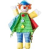 Small Foot by Legler Handpuppe Clown aus Stoff mit Holzkopf, schult spielerisch die Fingerfertigkeit und Motorik, für tolle Rollenspiele mit Dem Kasperletheater