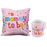 Best Mom Coffee Cups - Indigifts Mommy to Be Coffee Mug and Cushion Review