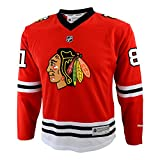 Reebok Marian Hossa Youth Jeunes Chicago Blackhawks NHL Red Replica Jersey