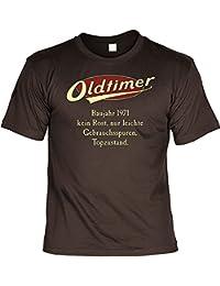T-Shirt mit Urkunde - Oldtimer Baujahr 1971 - lustiges Sprüche Shirt als Geschenk zum 46. Geburtstag - NEU mit gratis Zertifikat!