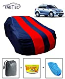 #8: Fabtec Car Body Cover for Maruti Swift Dzire Old (Red & Blue)