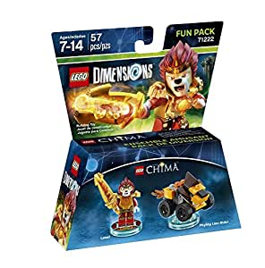Figurine 'Lego Dimensions' - Laval - Lego Chima : Pack Héros