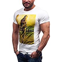 BOLF - T-shirt - Manga corta – GLO STORY 7434 – Hombre