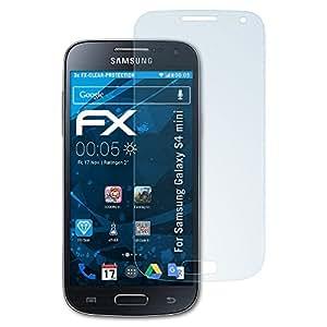 atFoliX FX-Clear Protection d'écran pour Samsung Galaxy S4 mini GT-i9190 (3 pièces)