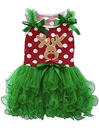 Navidad Fiesta Vestido Koly Niños Bebé Chicas Christmas Algodón Trajes Ropa Skirts Dress Disfraz Princesa Vestidos Viste a Party Fancy Vestidos Boda Bautizo Fiesta Varios