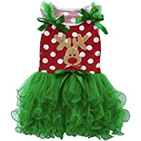 Navidad Fiesta Vestido Koly Niños Bebé Chicas Christmas Algodón Trajes Ropa Skirts Dress Disfraz Princesa Vestidos Viste a Party Fancy Vestidos Boda Bautizo Fiesta Varios