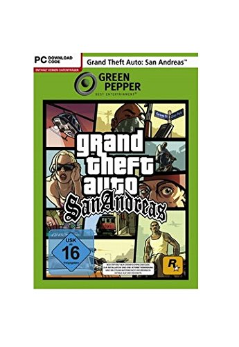 Grand Theft Auto: San Andreas [Green Pepper] - [PC] - Gta Andreas Ps2 San
