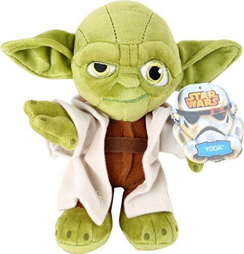 Joy Toy 1400606 Star Wars Yoda Velboa Velvet Plush Soft Toy