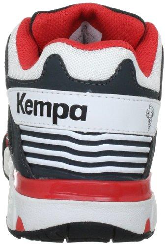 Kempa - Flash Women, Scarpe da pallamano Donna Grigio (Grau (dunkelanthrazit/weiß/cerise 01))