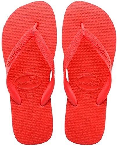 Havaianas Flip Flops Top Zehentrener für Männer/Frauen Rot (2090)